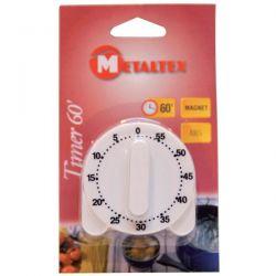 METALTEX Minuteur 60 minutes magnétique