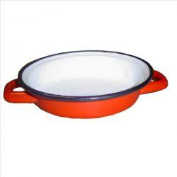 BEKA Plat à oeufs18 cm rouge émail