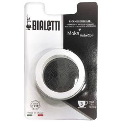 BIALETTI FILTRE 3T +3 JOINT MOKA INDUCTION