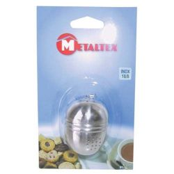 METALTEX Boule à thé inox