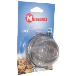 METALTEX Boule à épices et infusions d.7.5cm blister 253830