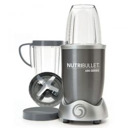 NUTRIBULLET Extracteur de nutriments Gris - NutriBullet 600 W - NUTRI600G
