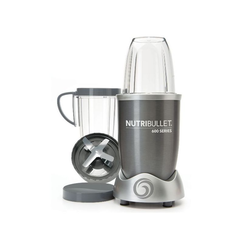 nutribullet extracteur de nutriments gris nutribullet 600 w nutri600g extracteur de jus lyon. Black Bedroom Furniture Sets. Home Design Ideas