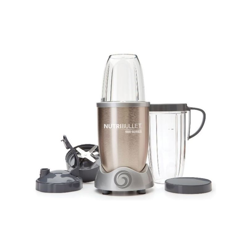 nutribullet extracteur de nutriments champagne nutribullet 900 w nutri900c extracteur de jus. Black Bedroom Furniture Sets. Home Design Ideas