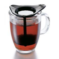 BODUM Set mug verre 0.35L + filtre Noir - Yo Yo Set