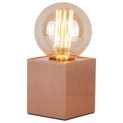 SAMPA-HELIOS Lampe kubi métal finition cuivre