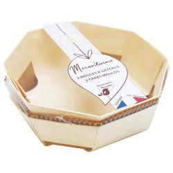 MIRONTAINE Lot de 2 moules à gâteaux 18 cm + 4 caissettes de cuisson