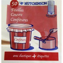 HUTCHINSON Sachet de 50 feuilles ''Couvre confitures''