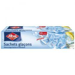 ALBAL Sachets glaçons x15