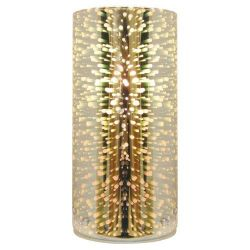 SAMPA-HELIOS Lampe à poser Etna en verre