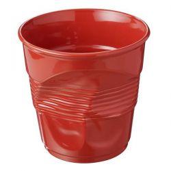REVOL Pot à ustensiles 1L Rouge Piment - Froissé