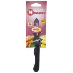 METALTEX Couteau éplucheur 2 tranchants