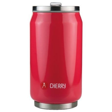 LES ARTISTES Mug isotherme 280 ml Rouge Brillant - Pull Can'It