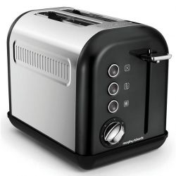 MORPHY RICHARDS TOASTER 2TRANCHES 7 POSITIONS ACCENT REFRESH NOIR