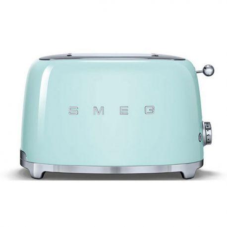 toaster smeg 2 tranches vert d 39 eau ann es 50 tsf01pgeu avis comparatif 2019. Black Bedroom Furniture Sets. Home Design Ideas