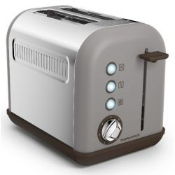 MORPHY RICHARDS Toaster Gris - Accents Pop - M222005EE