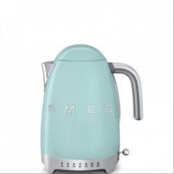 SMEG Bouilloire avec réglage de la température Années 50 vert d'eau
