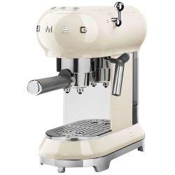 SMEG Machine à café Expresso Années 50 Design compact Logo en relief Boitier en  [-]