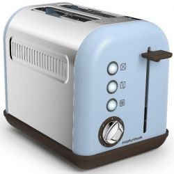 MORPHY RICHARDS Toaster Bleu Azur - Accents Pop - M222003EE