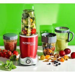 NUTRIBULLET Extracteur de nutriments Rouge - NutriBullet 600 W + Kit accessoires