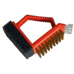 BARBECOOK Brosse barbecue 3 en 1