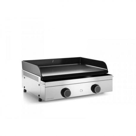 Forge adour plancha origin gaz 60 ch ssis inox origin g60 for Plancha forge adour pas cher