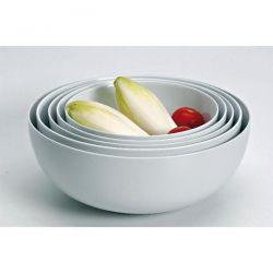 GIRARD Saladier boule blanc Sahara empilable 25 cm