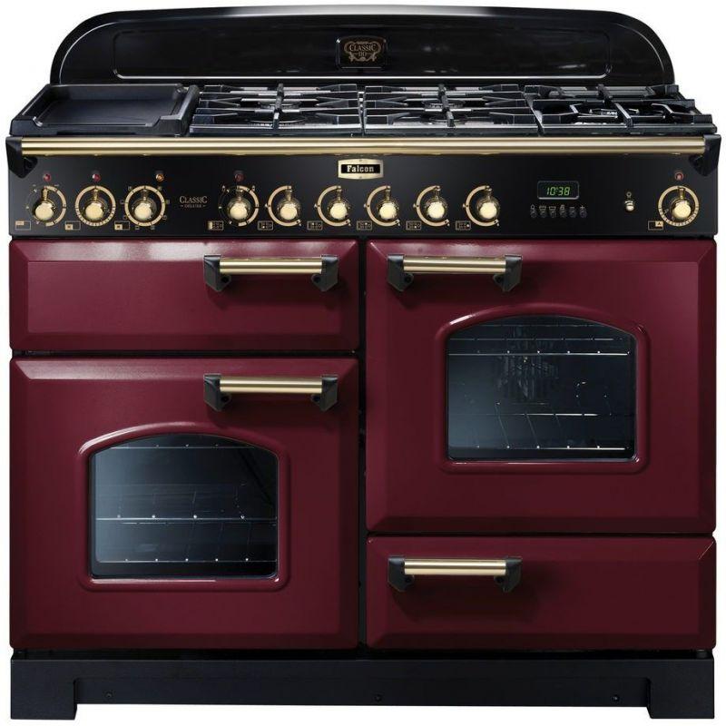 falcon cdl110dfcyb eu cuisini re falcon classic deluxe 110 rouge cuivr e. Black Bedroom Furniture Sets. Home Design Ideas
