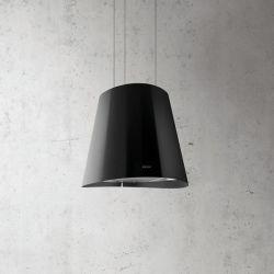 hotte décorative noire ilôt juno led elica PRF0071970A