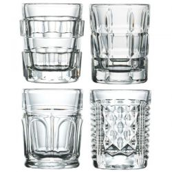 LA ROCHERE Coffret de 4 verres à Shooter 6 cl - After