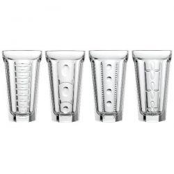 LA ROCHERE Coffret de 4 verres Long Drink 35 cl - Saga