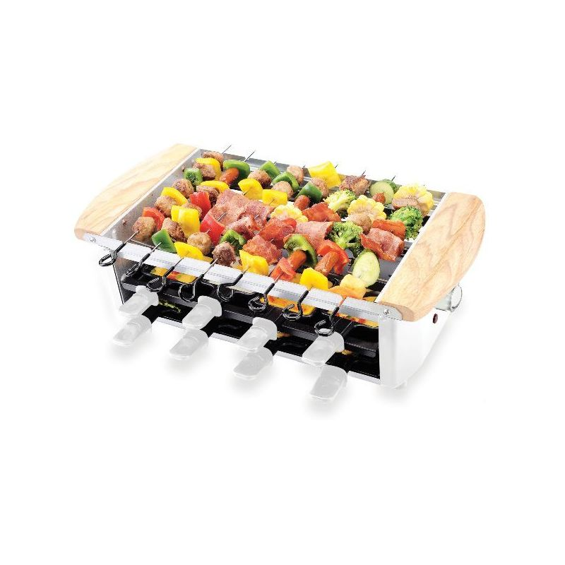 Little Balance raclette / grill / brochettes 8 personnes - happy - 8263