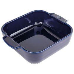 PEUGEOT Plat à four carré 21 cm Bleu Profond - Appolia