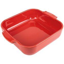 PEUGEOT Plat à four carré 28 cm Rouge - Appolia