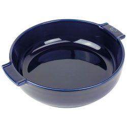 PEUGEOT Plat à four rond 27 cm Bleu Profond - Appolia