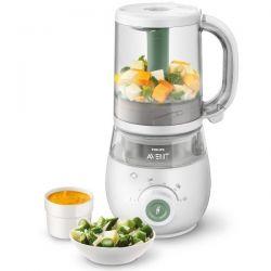 PHILIPS Robot cuiseur mixeur 4 en 1 pour bébé - SCF885.01