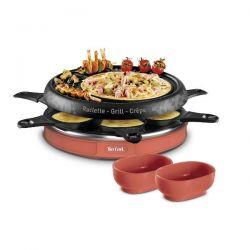 TEFAL Appareil à raclette - Twist Corail - RE128001