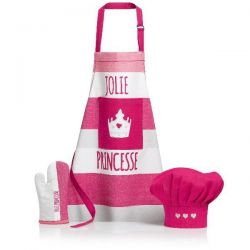 WINKLER Set Tablier enfant Rose - Sissi