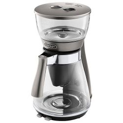 DELONGHI CAFETIERE CLESSIDRA SLOW COFFEE 10T VERRE INOX [-]
