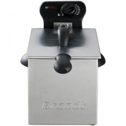 BRANDT FRITEUSE SEMI PRO 2000W 3L 1KG TH° DEMONTABLE INOX