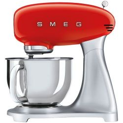 SMEG Robot sur socle 4.8 L Rouge - Années 50 - SMF02PBEU