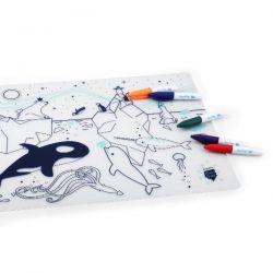 SUPERPETIT Banquise - Set silicone à colorier