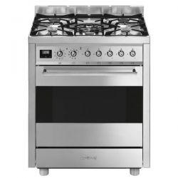 SMEG cuisinière mixte largeur 70 cm - 5 foyers C7GPX9