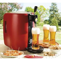 SEB Machine à bière Rouge - Beertender - VB310510