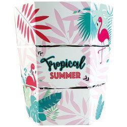 ICEPAC Seau à glaçons pliable - Tropical Summer