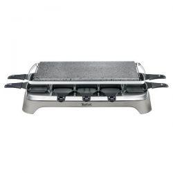 TEFAL Raclette & Pierrade® 10 personnes - Inox & Design - PR457B12