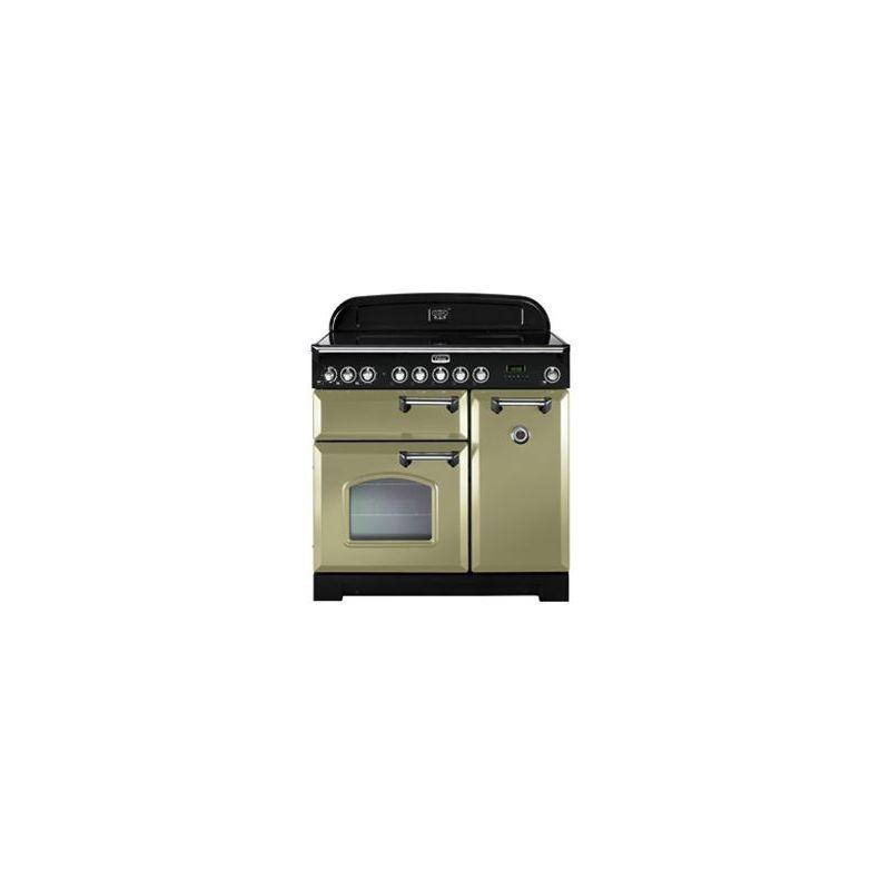 Cuisini re falcon classic deluxe 90 vitroc ramique vert chrom cdl90ecog c eu - Cuisiniere falcon prix ...
