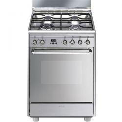 cuisinière smeg mixte 60 cm scb60mx2