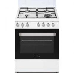 ROSIERES - Cuisinière 4 feux gaz RGG663CSW/E