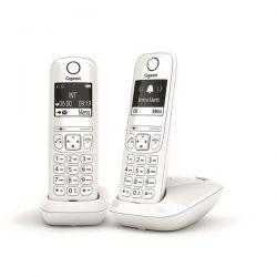 GIGASET Téléphone sans fil DECT + 1 combiné AS690DUOW